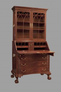 Boston Chippendale Secretary Desk