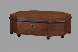Federal Birdseye Maple Sewing Box